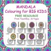 Mandala Colouring Pages FREE Resource