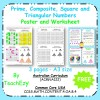 Maths Posters & worksheets - Prime Composite Square and Triangular Numbers