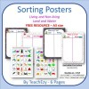 Science Sorting Posters FREE resource