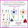 Counting and Making Flowers FREE