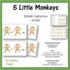 5 Little Monkeys Subtraction Game