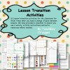 Lesson Transition Activities
