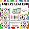 Shape and Colour Bingo