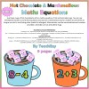 Hot Chocolate and Marshmallow Maths Equations
