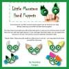 Little Monster Hand Puppet Body Parts