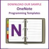 Programming Templates OneNote SAMPLE
