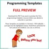 Programming Templates PREVIEW ONLY