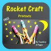 Rocket Craft Freebie printouts