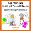 App Print-outs Health and Physical Education