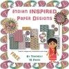 Indian Inspired Paper Designs Freebie