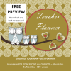 Teacher Mega Planner 2017 PREVIEW