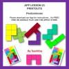 APP LESSON 23 PRINTOUTS