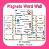 Magnets Word Wall