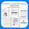 Futuristic Theme Park Design