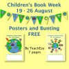 Children's Book Week Posters and Bunting FREE