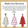 Patterned Christmas Tree Decorations