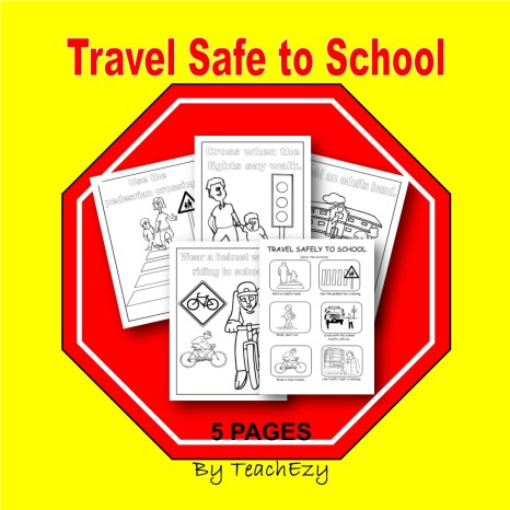 Travel safe to school cover