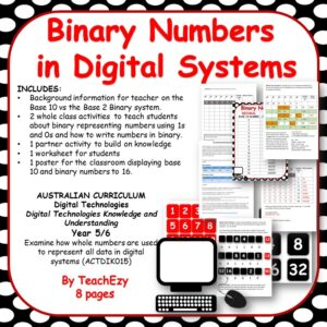 Binary Numbers in Digital Technologies cover
