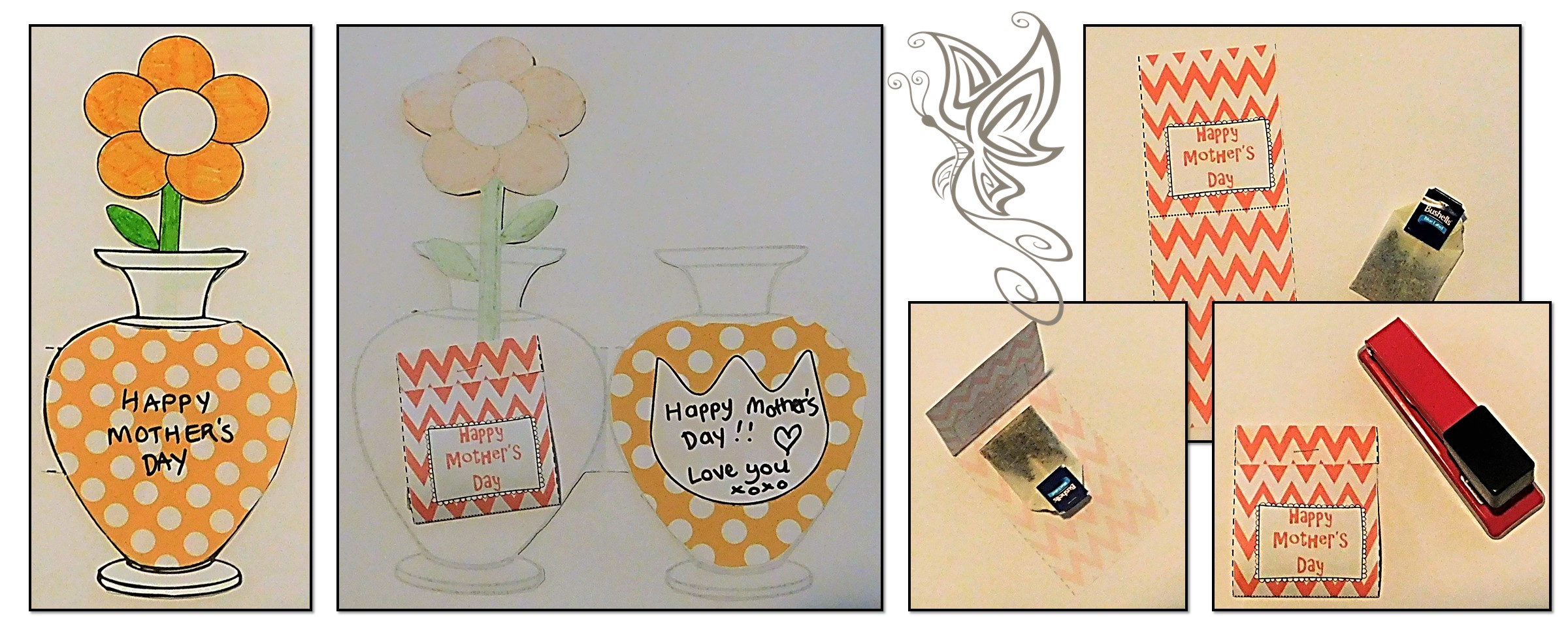 Mothers Day Card and Tea Bag Craft
