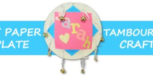 DIY Paper Plate Tambourine Craft