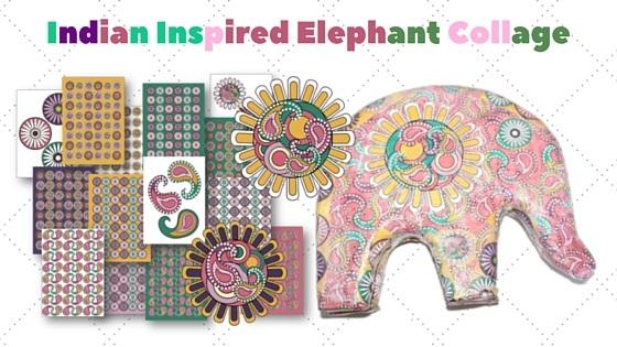 elephant collage heading