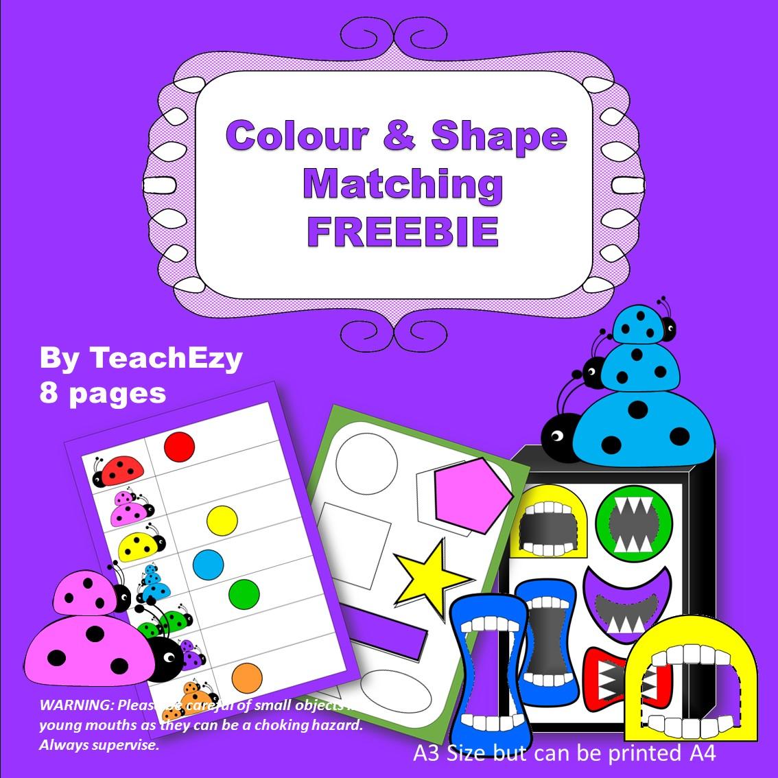 colour-and-shape-match-freebie