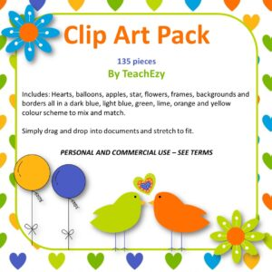 clip art pack Teachezy square cover
