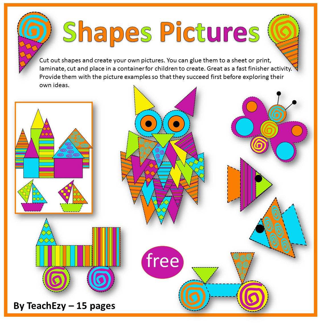 Shape pictures free resource